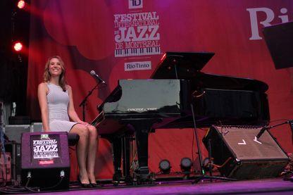 Sarah McKenzie au Festival international de jazz de Montréal en 2018