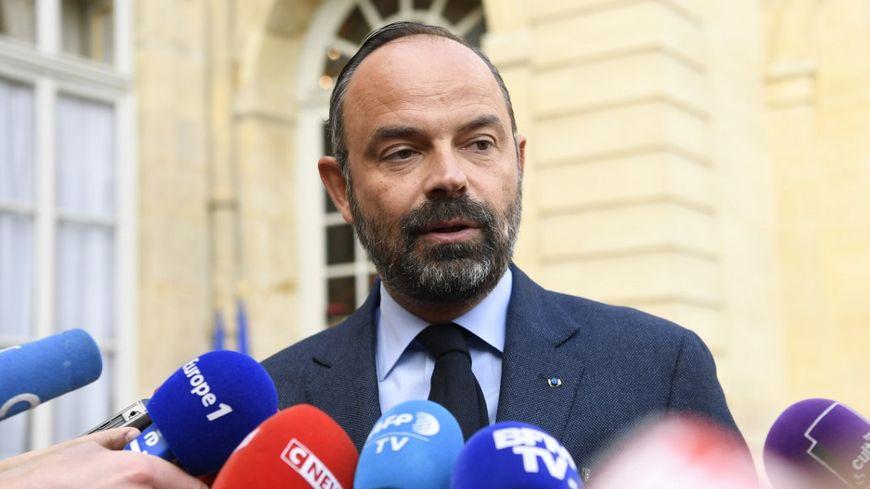 Edouard Philippe devant Matignon lundi 29 avril 2019