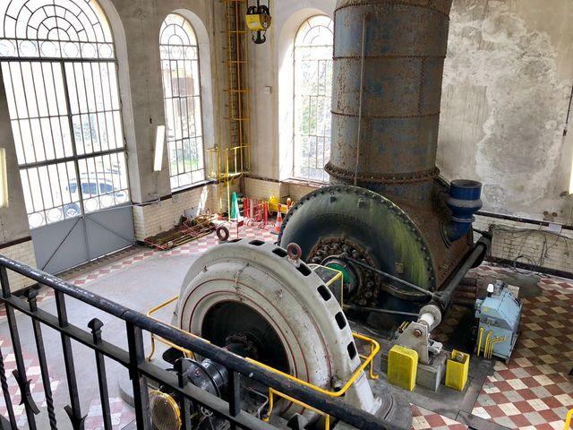 Centrale hydroélectrique de Romanche Gavet, Isère.
