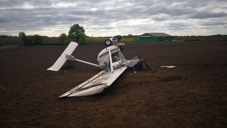 L'ULM après le crash