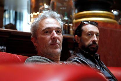 Les Innocents,  J. P. Nataf, et Jean-Christophe Urbain, le 28 mai 2015 à Paris.