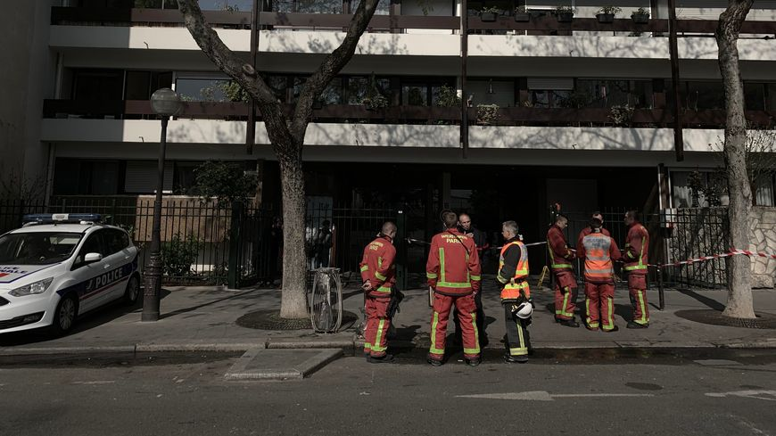 5 immeubles sont pour l'heure interdits d'accès rue Pajol et rue Riquet.