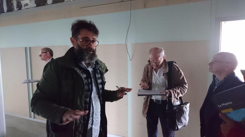 Jacques-Olivier Legendre, architecte du cabinet Exo à Bayeux, se charge des travaux de rénovation du bâtiment.