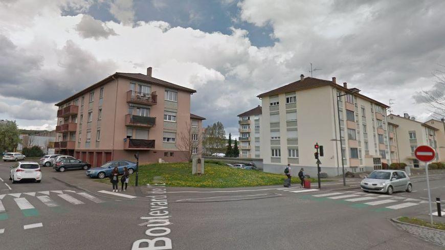L'accident a eu lieu à Obernai à l'angle du boulevard de l'Europe et de la rue des Bonnes Gens.