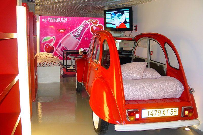 Dormir dans une 2CV