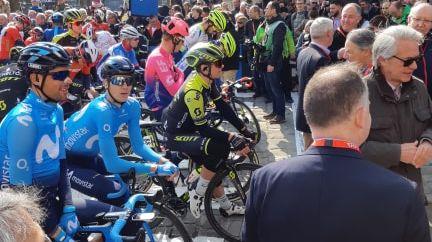 Départ fictif du Paris-Roubaix