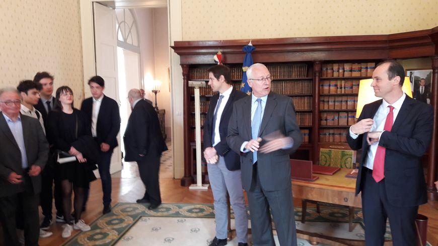 Le préfet des Vosges Pierre Ory, rend compte des résultats du grand débat national dans le département