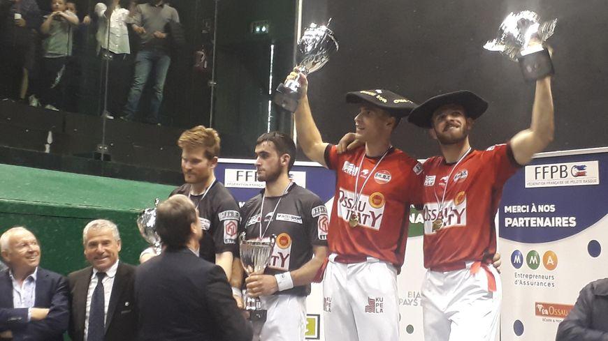 Larralde et Bilbao remportent le titre ensemble pour la 3e fois