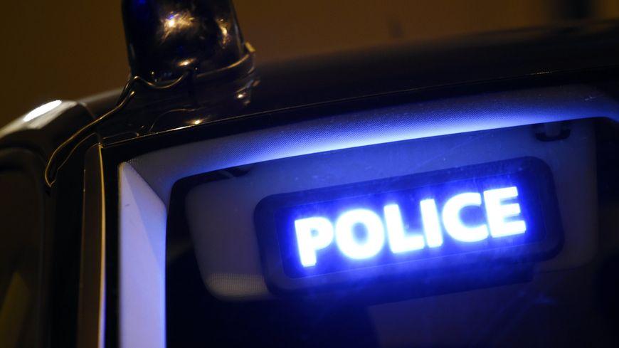 Une voiture de police. Image d'illustration.
