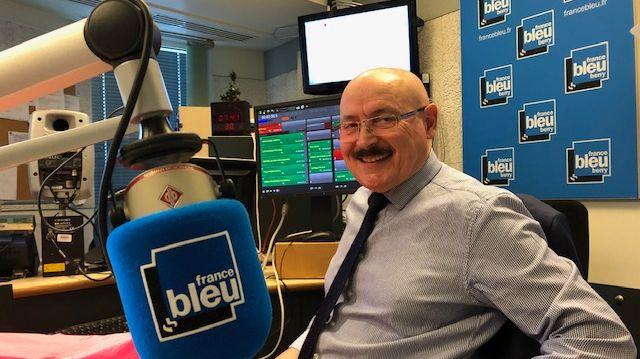 Guy Pépin est l'organisateur du salon, et le patron du MEDEF dans l'Indre