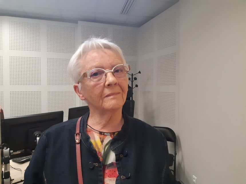 Andrée Guillamet, déléguée de l'Association pour le droit à mourir dasn la dignité © Radio France