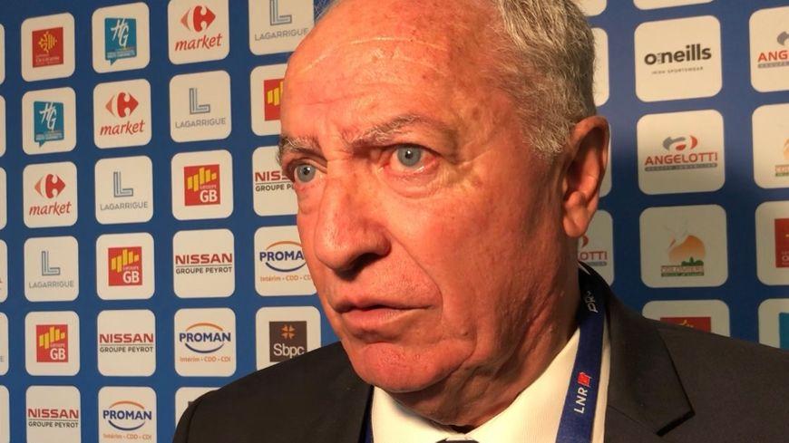 Alain Carré, le président de Colomiers.