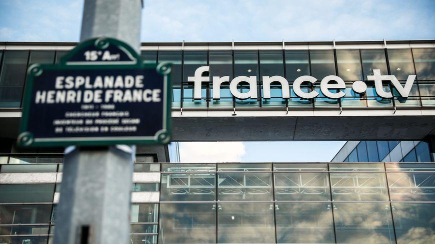 Le siège de France Télévisions à Paris en mars 2019