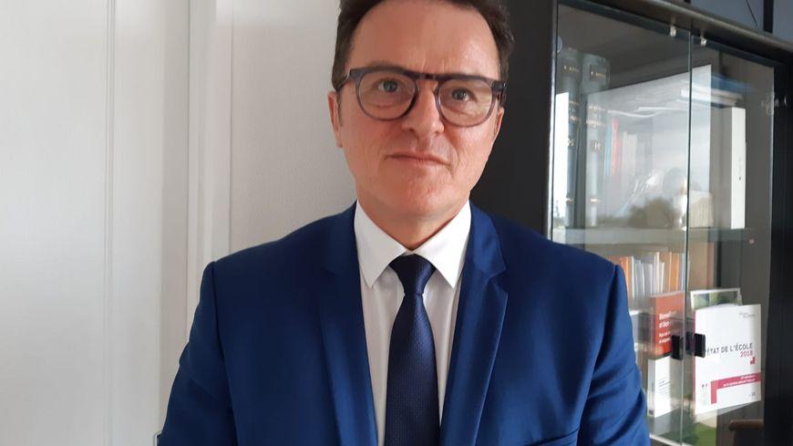 Philippe Ballé, directeur des services académiques du Loiret