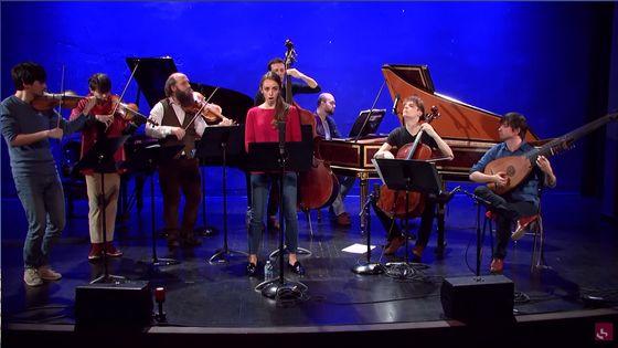 Antonio Vivaldi : Juditha Triumphans, Deuxième Partie : « Armatae face »  (Ensemble Jupiter/Léa Desandre)