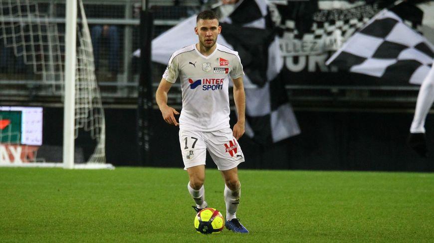 Le milieu de terrain Alexis Blin, prêté par Toulouse, a disputé 20 matchs avec Amiens en Ligue 1 cette saison.