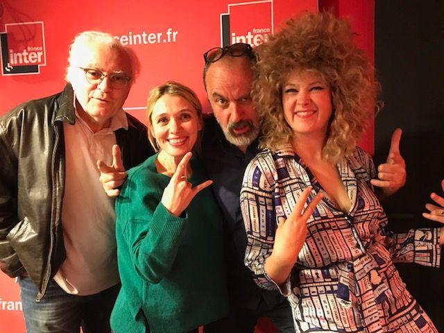 """""""Vous Les Femmes"""", de g. à d. : Albert Algoud, Anne Marivin, Daniel Morin, Corinne"""