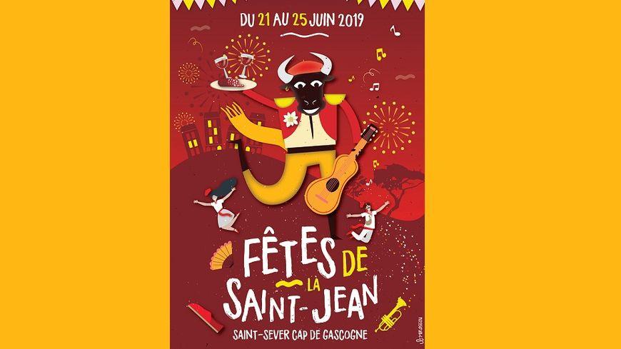 Benjamin Mirassou a remporté le concours pour la création de l'affiche des Fêtes de Saint-Sever