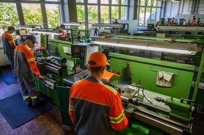 Usine d'acier à Eisenhüttenstadt : la croissance ralentit en Allemagne