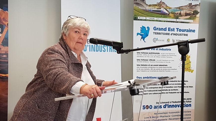Jacqueline Gourault, ministre de la Cohésion des territoires et des Relations avec les collectivités territoriales