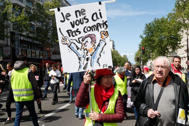 """Acte XXiV des """"gilets jaunes"""" à Paris"""