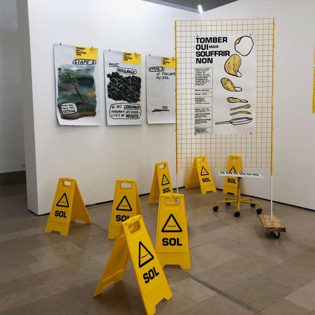 L'installation de Pauline Lecerf au Salon de Montrouge