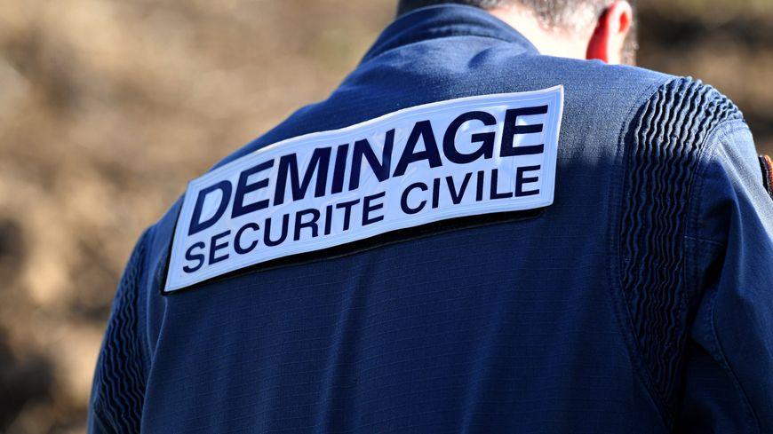 Déminage par la sécurité civile (illustration)