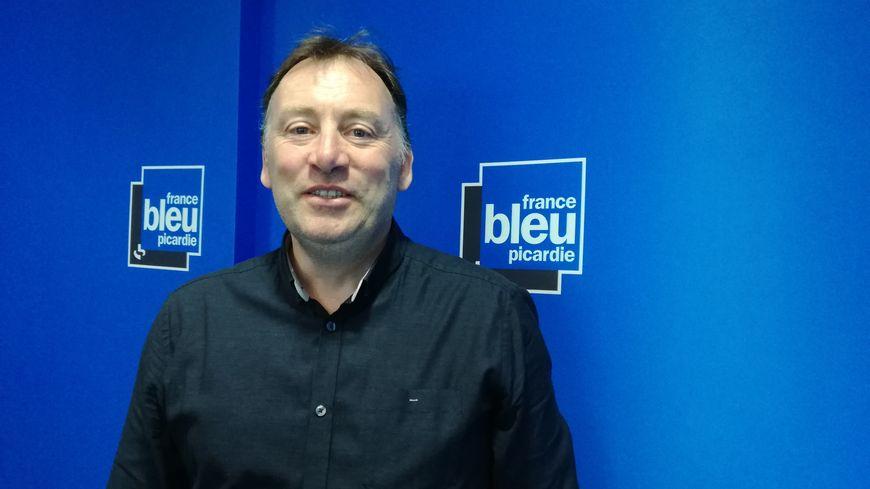 Bruno Sacleux, secrétaire général de la CGT Ouvriers et Employés de la ville d'Amiens et Amiens Métropole