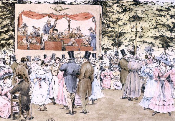 Concert dans les jardins de Tivoli