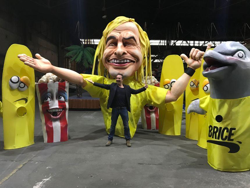 Dans l'antre du carnaval, Jean Dujardin