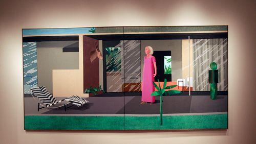 """David Hockney : """"Le monde est beau. Je viens de voir l'exposition Monet, je suis allé à Giverny c'était fantastique"""""""