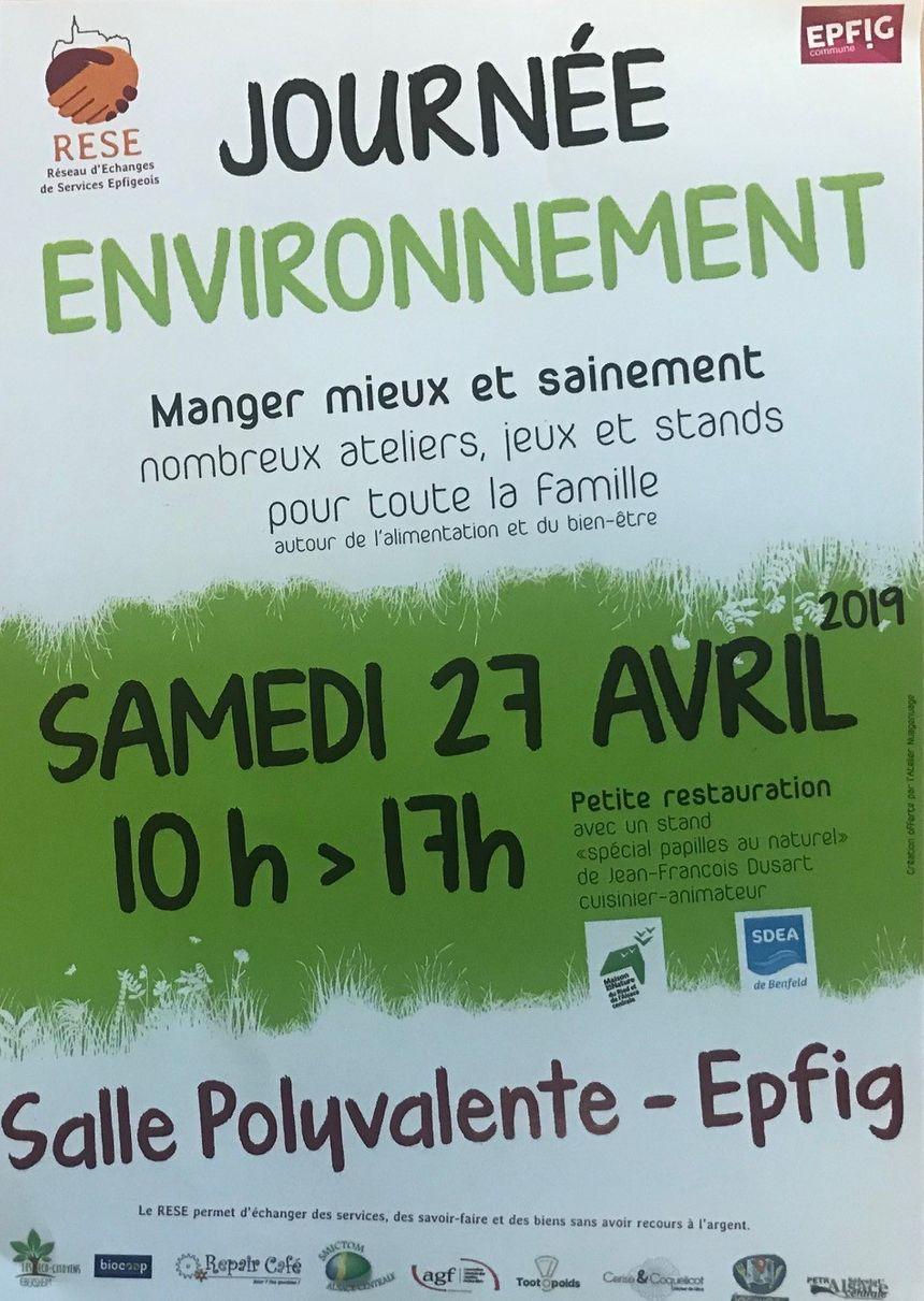 journée environnement Epfig