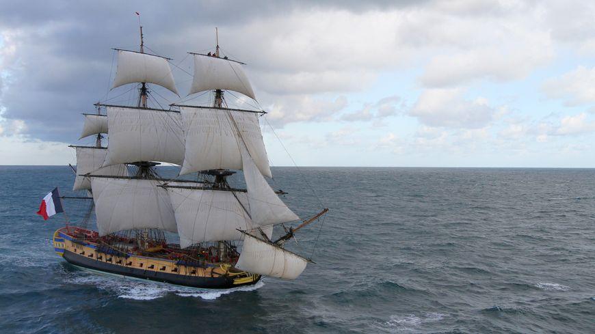 L'Hermione sera à Cherbourg du 4 au 8 mai