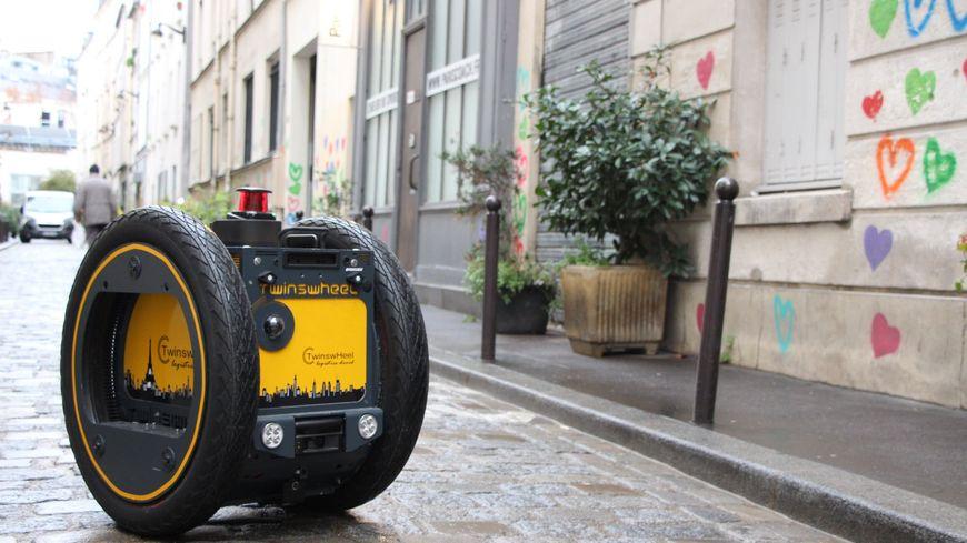 Des droïdes-chariots-livreurs 100% électrique et autonome devrait se déployer dans le centre-ville de Montpellier en 2020.
