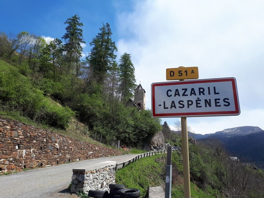 Le village de Cazaril-Laspènes peu accessible aux pompiers en cas d'incendie