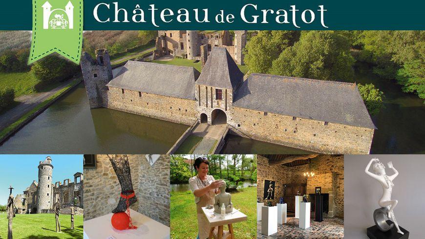 """""""A propos de Sculpture"""" 2019 au Château de Gratot avec France Bleu"""