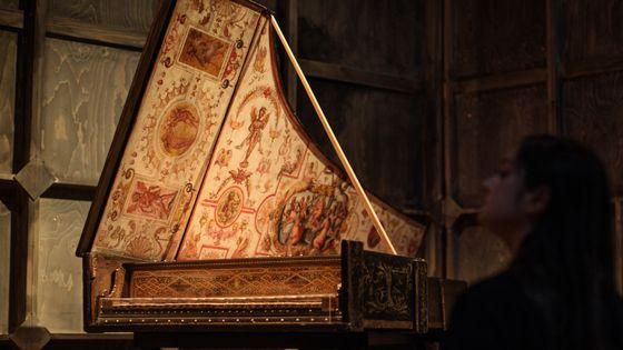 Un clavecin de 1574