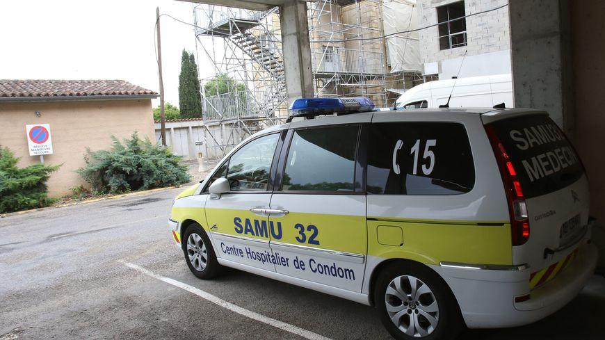 Les urgences de l'hôpital de Condom dans le Gers
