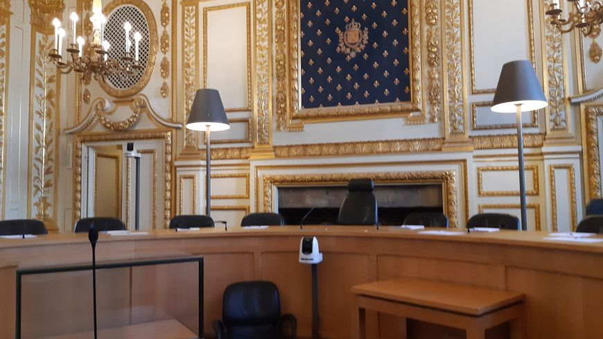 Cour d'Assises de l'Ille-et-Vilaine à Rennes, en avril 2019.
