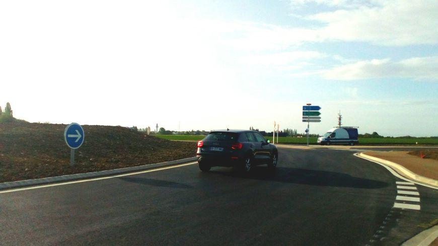 Le barreau routier amiénois s'étend sur un kilomètre quatre cent