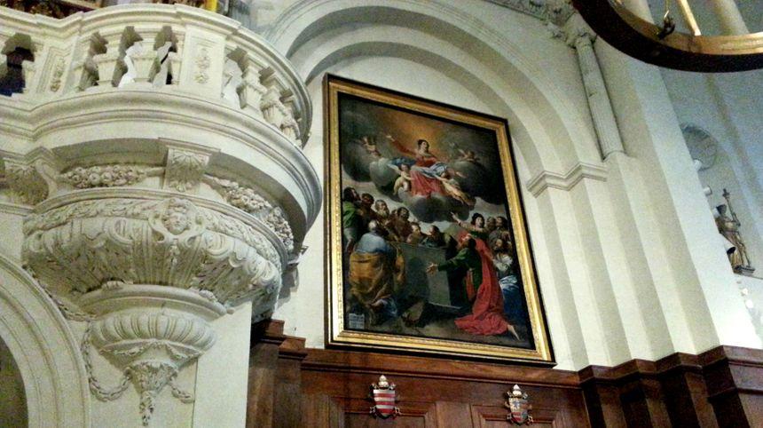 Le tableau de Mignard à sauver en priorité à Notre Dame des Doms à Avignon