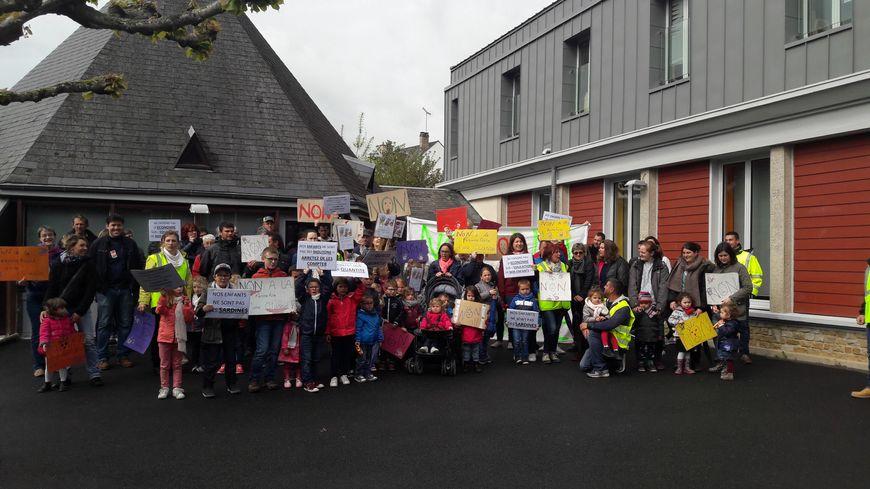 Mobilisation des délégués parents d'élèves à la maternelle de Valençay