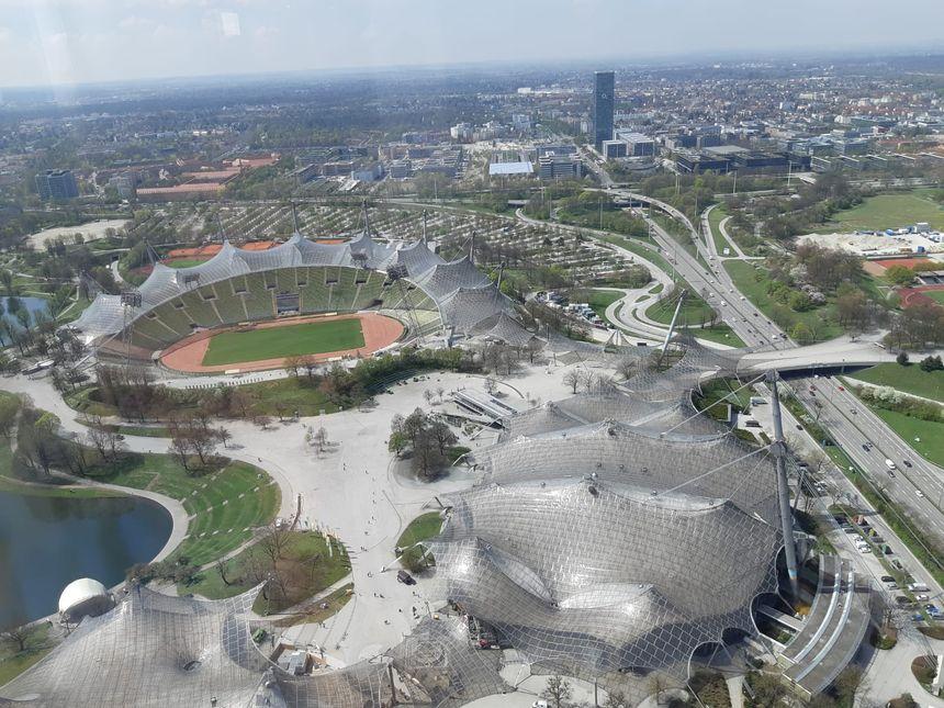 L'expo est située dans l'Olympia Park de Münich