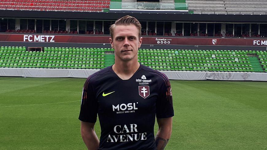 Paul Delecroix, le gardien remplaçant du FC Metz