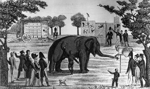 Animations dans les jardins de Tivoli, à Paris, 1797.