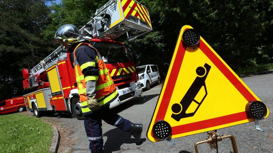 Photo d'illustration des pompiers en intervention lors d'un accident de la circulation