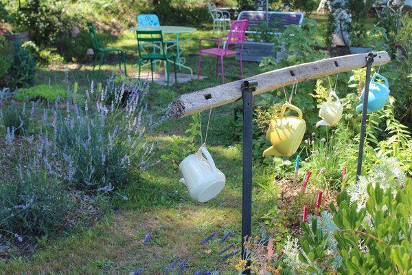 Un jardin thérapeutique est installé au sein des jardins de l'Humanité.