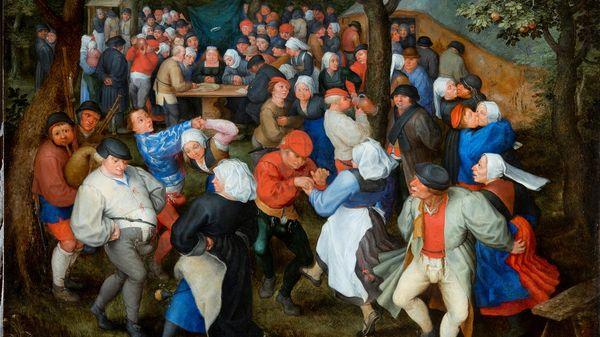 """Quelle musique voyez-vous sur le tableau """"La Danse de Noces"""" de Jan I Brueghel l'Ancien ?"""