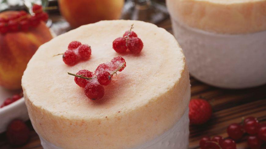 Soufflé glacé au kirsch