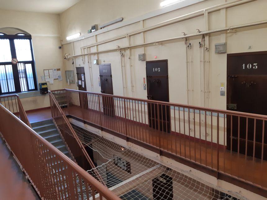 """La fouille a été organisée """"dans plusieurs cellules et espaces communs de la maison d'arrêt de Montbéliard"""""""